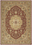 Shaw Living Arabesque Easton 02800 Firebrick Red Closeout Area Rug - 2014