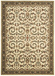 Shaw Living Arabesque Juliard 03100 Ivory Cream Closeout Area Rug - 2014