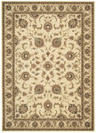 Shaw Living Arabesque Coventry 00100 Ivory Cream Closeout Area Rug - 2014