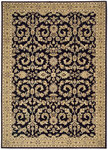 Shaw Living Arabesque Juliard 03500 Cannon Black Closeout Area Rug - 2014