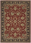 Shaw Living Arabesque Coventry 00800 Firebrick Red Closeout Area Rug - 2014