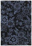 Shaw Living Loft Lillian 15410 Navy Closeout Area Rug - 2014