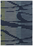 Shaw Living Loft Neo 01400 Blue Closeout Area Rug - 2014