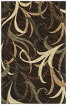 Shaw Living Centre Street Karma 13700 Brown Closeout Area Rug - 2014