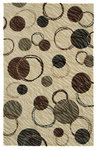 Shaw Living Centre Street Hemisphere 03100 Beige Closeout Area Rug - 2014