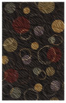 Shaw Living Centre Street Hemisphere 03500 Black Closeout Area Rug - 2014