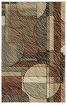Shaw Living Centre Street Bleeker 07110 Light Multi Closeout Area Rug - 2014