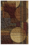 Shaw Living Centre Street Bleeker 07440 Multi Closeout Area Rug - 2014