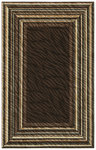 Shaw Living Centre Street Derby 12700 Brown Closeout Area Rug - 2014