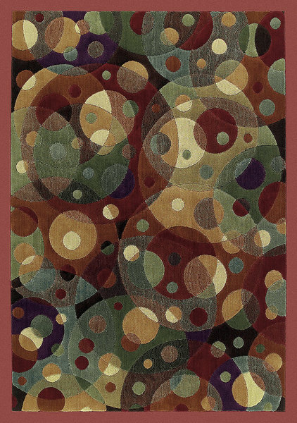 Shaw living impressions orbit 08440 multi closeout area - Shaw rugs discontinued ...