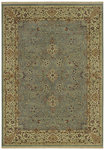 Shaw Living Century Sheridan 04600 Vintage Blue Closeout Area Rug - 2014
