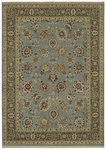 Shaw Living Century Lenox 03600 Vintage Blue Closeout Area Rug - 2014