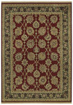 Shaw Living Century Lancaster 03800 Scarlet Closeout Area Rug - 2014