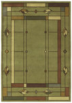 Shaw Living Timber Creek By Phillip Crowe Mission Leaf 08310 Sage Closeout Area Rug - 2014