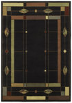 Shaw Living Timber Creek By Phillip Crowe Mission Leaf 08500 Onyx Closeout Area Rug - 2014