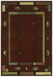 Shaw Living Timber Creek By Phillip Crowe Mission Leaf 08800 Scarlet Closeout Area Rug - 2014