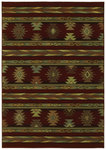 Shaw Living Timber Creek By Phillip Crowe Pueblo 11800 Scarlet Closeout Area Rug - 2014
