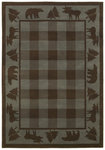 Shaw Living Timber Creek By Phillip Crowe Woodlands 15600 Vintage Blue Closeout Area Rug - 2014
