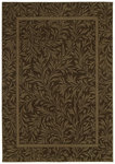 Shaw Living Timber Creek By Phillip Crowe Englewood 05700 Espresso Closeout Area Rug - 2014