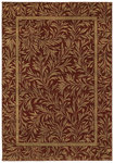 Shaw Living Timber Creek By Phillip Crowe Englewood 05800 Scarlet Closeout Area Rug - 2014