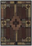 Shaw Living Timber Creek By Phillip Crowe Terra Cotta 18440 Multi Closeout Area Rug - 2014