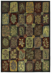 Shaw Living Timber Creek By Phillip Crowe Autumn Grove 00500 Onyx Closeout Area Rug - 2014