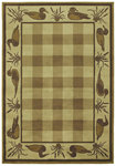 Shaw Living Timber Creek By Phillip Crowe Clearwater Cove 04100 Beige Closeout Area Rug - 2014
