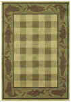 Shaw Living Timber Creek By Phillip Crowe Lake House 06100 Beige Closeout Area Rug - 2014