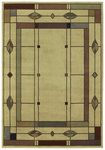 Shaw Living Timber Creek By Phillip Crowe Mission Leaf 08100 Beige Closeout Area Rug - 2014