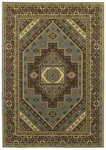 Shaw Living Timber Creek By Phillip Crowe Sedona 12600 Vintage Blue Closeout Area Rug - 2014