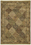 Shaw Living Renaissance Venice 08710 Dark Brown Closeout Area Rug - 2014