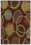 Shaw Living Transitions Cosmic 02800 Scarlet Closeout Area Rug - 2014