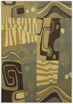 Shaw Living Transitions Impulse 06110 Light Multi Closeout Area Rug - 2014