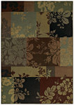 Shaw Living Transitions Fleur 10440 Multi Closeout Area Rug