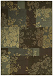 Shaw Living Transitions Fleur 10700 Espresso Closeout Area Rug