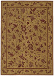 Shaw Living Renaissance Alexandria 00700 Gold Closeout Area Rug - 2014