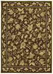 Shaw Living Renaissance Alexandria 00710 Dark Brown Closeout Area Rug - 2014