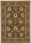 Shaw Living Renaissance Sienna 07710 Dark Brown Closeout Area Rug - 2014
