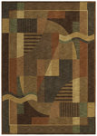 Shaw Living Renaissance Moderne 02710 Dark Brown Closeout Area Rug - 2014