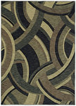 Shaw Living Modernworks Deco 04400 Navy Closeout Area Rug - 2014