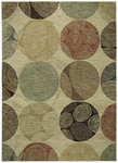 Shaw Living Modernworks Biometric 10100 Beige Closeout Area Rug - 2014
