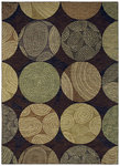 Shaw Living Modernworks Biometric 10400 Navy Closeout Area Rug - 2014