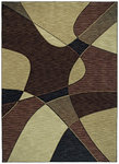 Shaw Living Modernworks Fusion 11720 Dark Brown Closeout Area Rug - 2014