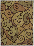 Shaw Living Modernworks Spellbound 01700 Gold Closeout Area Rug - 2014