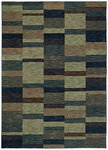 Shaw Living Modernworks Parallel 00400 Navy Closeout Area Rug - 2014
