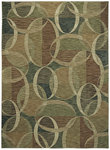 Shaw Living Modernworks Aura 02110 Light Multi Closeout Area Rug - 2014
