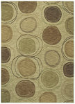Shaw Living Modernworks Synergy 08100 Beige Closeout Area Rug - 2014
