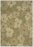Shaw Living Modernworks Karina 13310 Light Green Closeout Area Rug - 2014