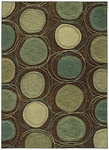 Shaw Living Modernworks Synergy 08710 Brown Closeout Area Rug - 2014