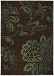 Shaw Living Modernworks Camilla 14720 Dark Brown Closeout Area Rug - 2014